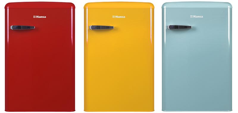 Ретро-холодильники Hansa | Фото: Hansa