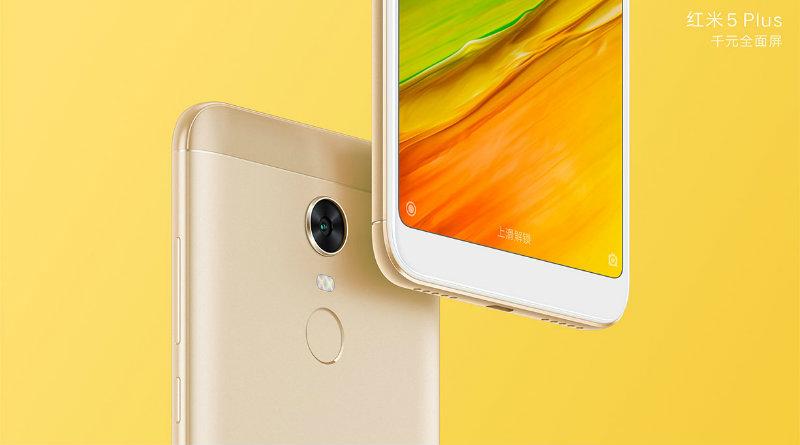 Xiaomi Redmi 5 Plus | Фото: Xiaomi