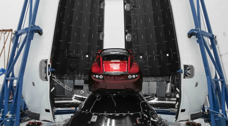 Tesla на Марс | Фото: 3dnews.ru