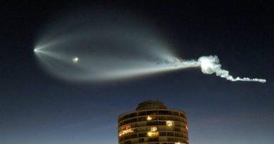 Запуск Falcon 9 | Фото: twitter