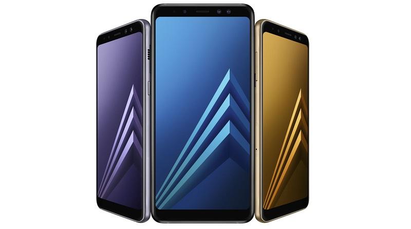 Samsung Galaxy A8 и A8+ | Фото: Samsung