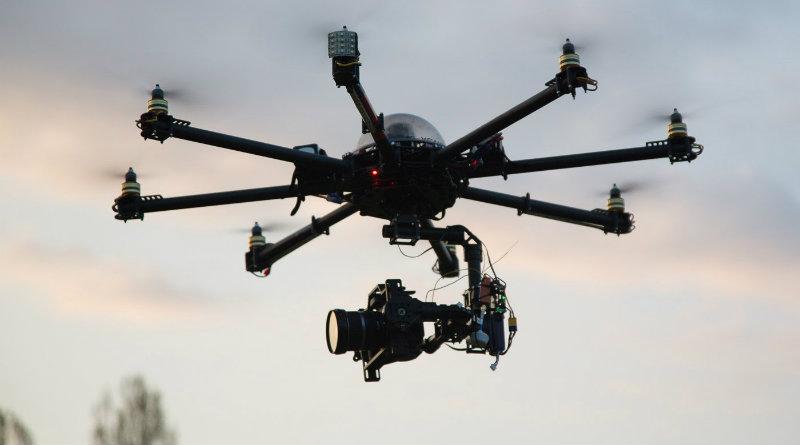Профессиональный дрон | Фото: dronesworld.ru