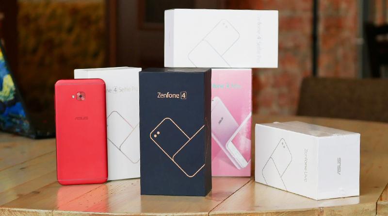 Смартфоны ZenFone 4 | Фото: chudo.tech