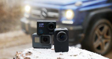 Тест экшн-камер: AC Robin, Xiaomi, GoPro