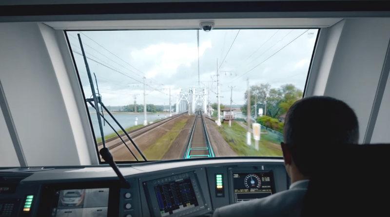 Кабина поезда Ласточка