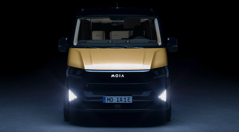 Volkswagen Moia | Фото: designboom.com