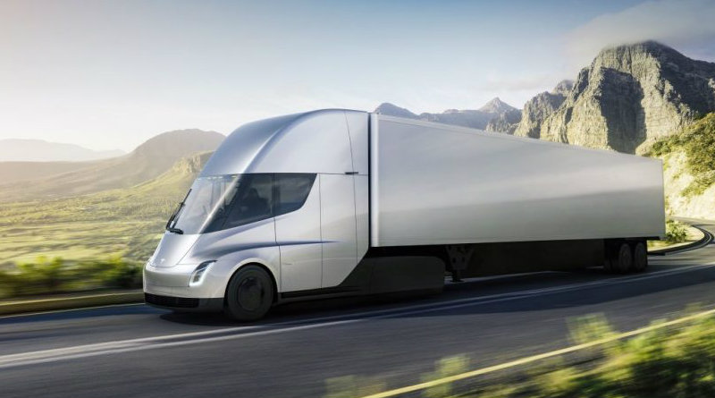 Tesla Semi | Фото: electrek.co