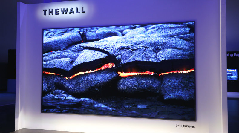Samsung The Wall | Фото: pocket-lint.com