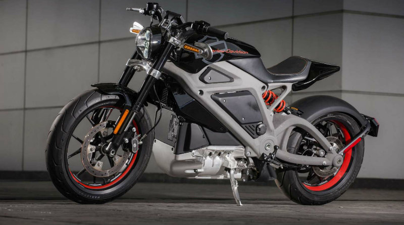 Harley-Davidson готовит электрический байк