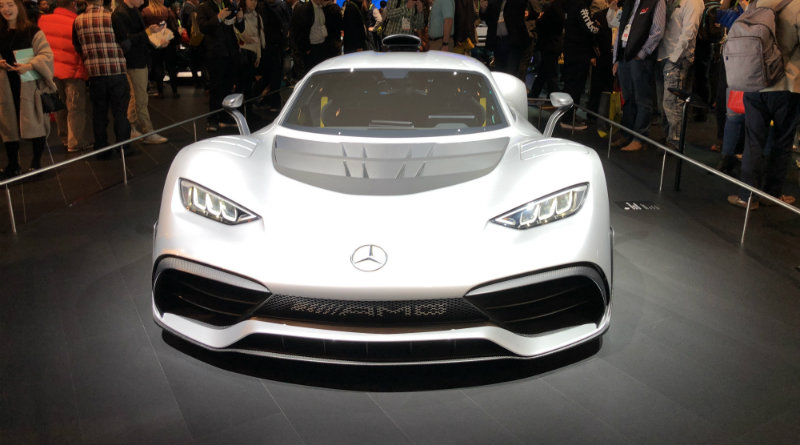 Mercedes на CES 2018 | Фото: chudo.tech