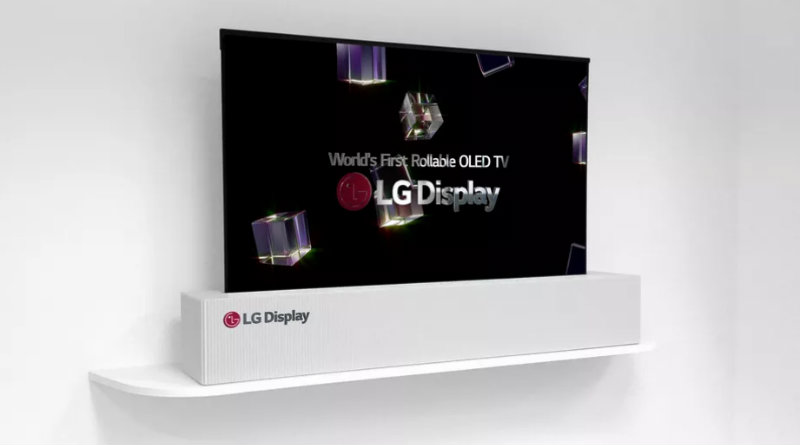 Гибкий телевизор LG | Фото: LG