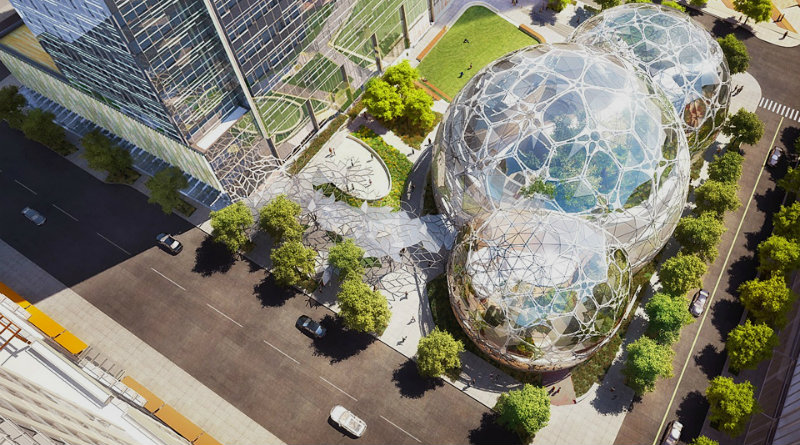 Amazon The Spheres | Фото: The Verge