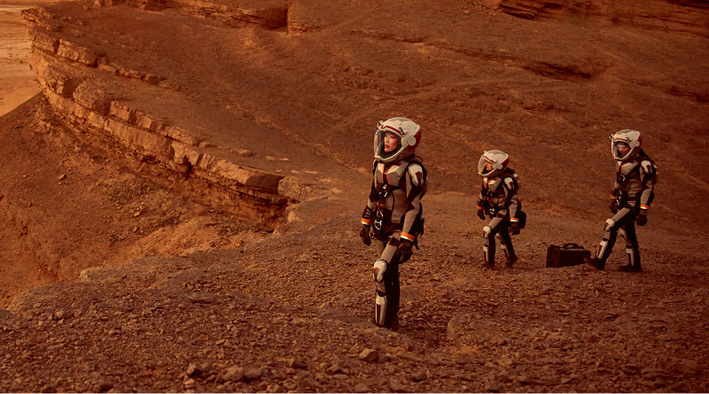 Люди на Марсе | Фото: Karaknews
