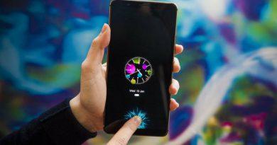 Смартфон со сканером отпечатков пальцев в экране | Фото: cnet