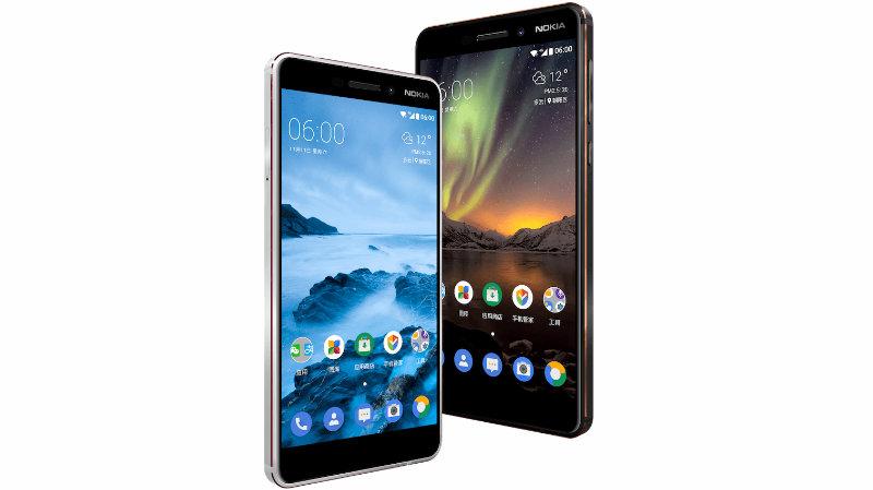 Nokia 6 (2018)   Фото: HMD Global