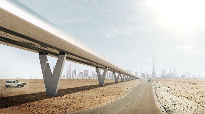 Hyperloop One | Фото: dailymail