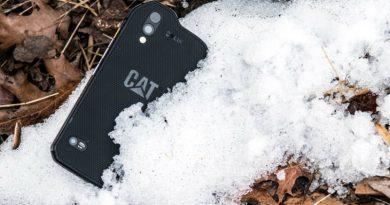 CAT S61 — крепкий смартфон с тепловизором