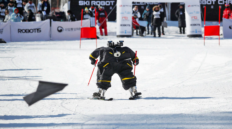 Робот на Олимпийских играх   Фото: Engadget