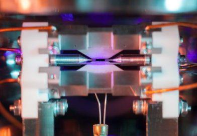 Студент сфотографировал один атом