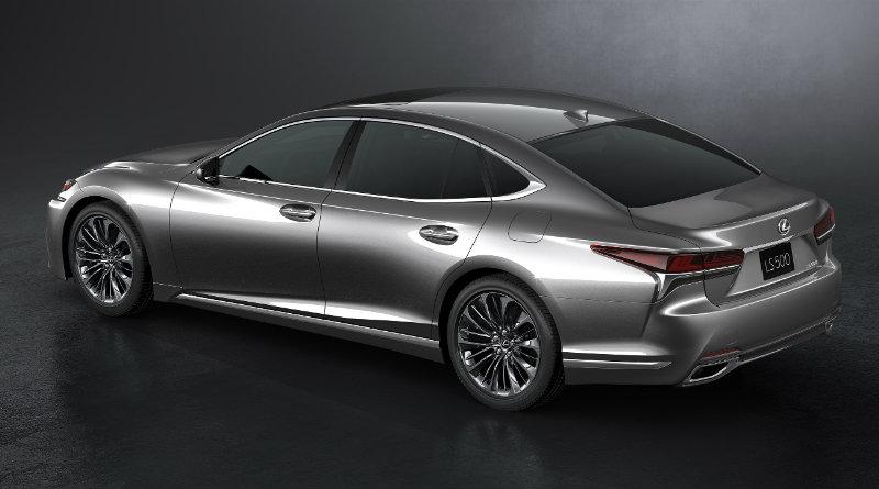Lexus LS 500h | Фото: Lexus