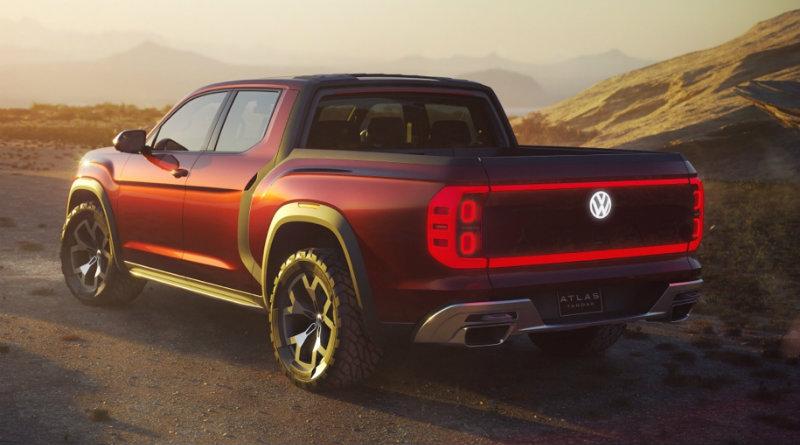 Volkswagen Atlas Tanoak | Фото: Volkswagen