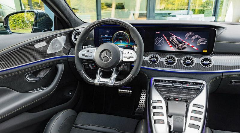 Mercedes-AMG GT 4-Door Coupe | Фото: motor.ru