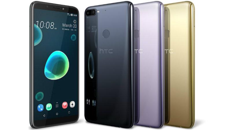 HTC Desire 12+   Фото: HTC