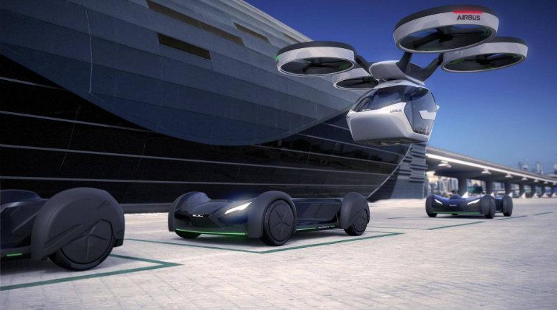 Летающая Audi | Фото: https://insideevs.com