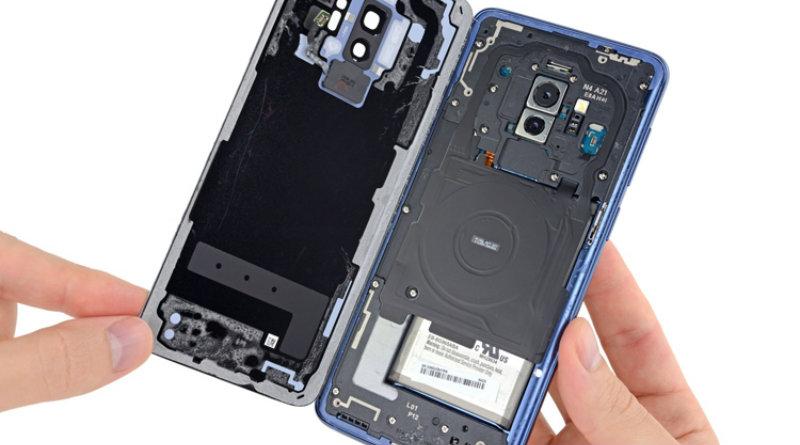 Разобранный Galaxy S9+ | Фото: 3dnews.ru