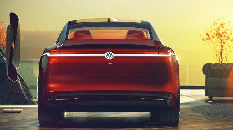 Volkswagen I.D. Vizzion | Фото: Volkswagen
