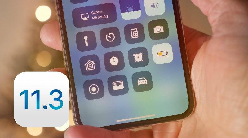 iOS 11.3 | Фото: Androgeek
