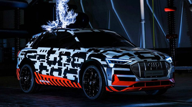 Audi e-tron | Фото: motor.ru