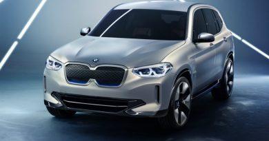 Электрический BMW iX3 заряжается за полчаса