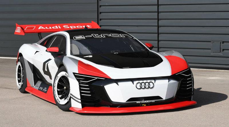 Audi e-tron Vision Gran Turismo | Фото: Audi