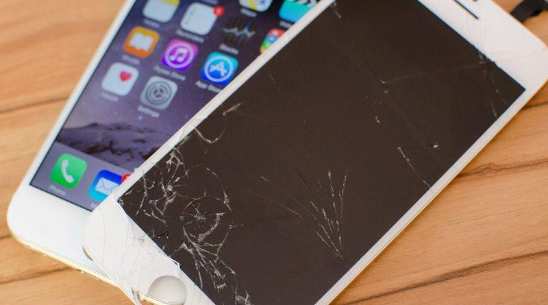 iPhone и разбитый экран   Фото: macdigger.ru