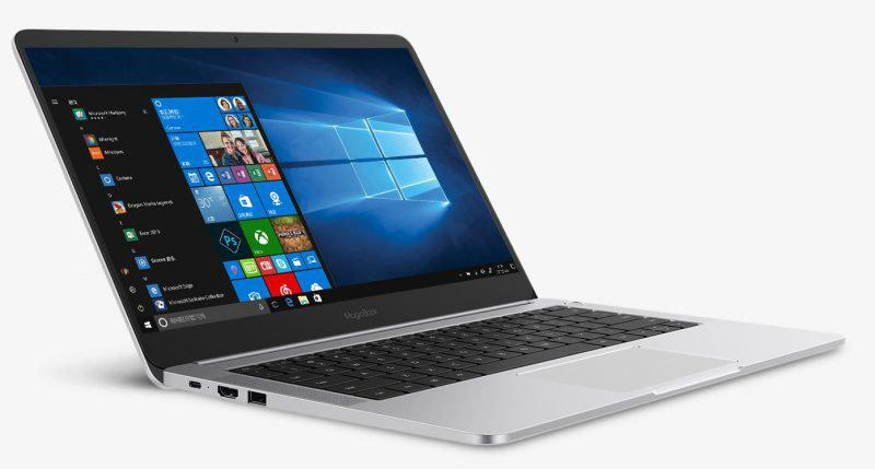 MagicBook — первый ноутбук бренда Honor