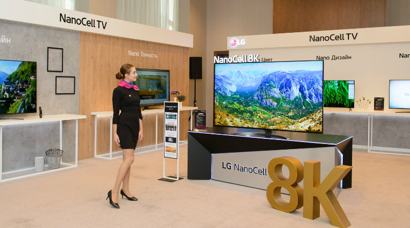 LG 8K телевизор