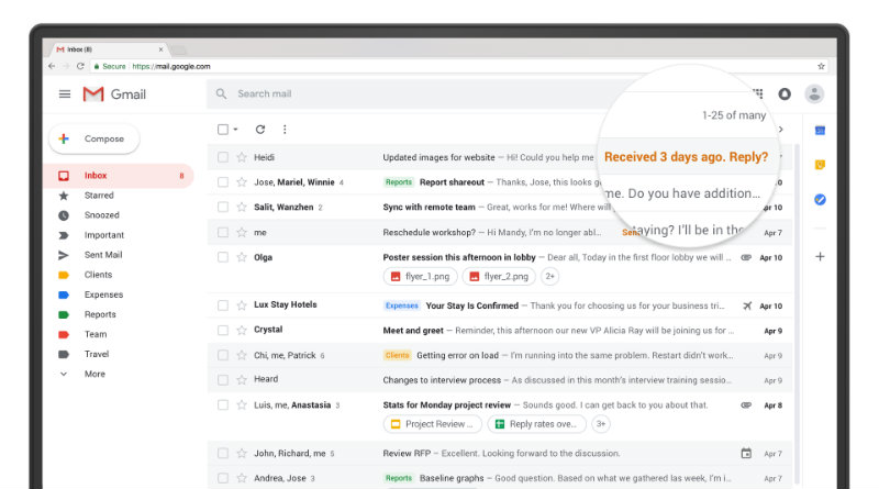 Gmail | Фото: Google