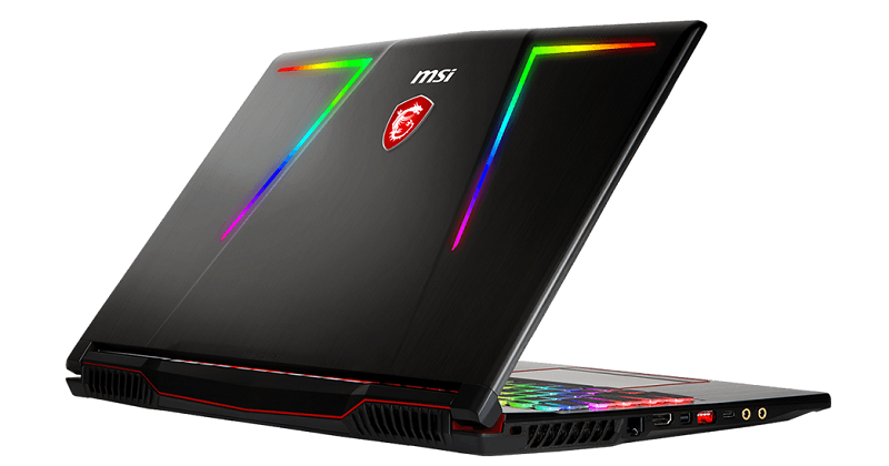 MSI GE63 Raider RGB 8RF | Photo: MSI