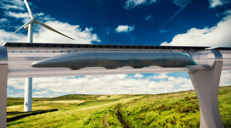 Hyperloop | Фото: Sputnik International