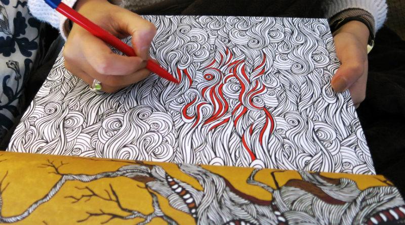 Раскраска-антистресс | Фото: alifelessphysical