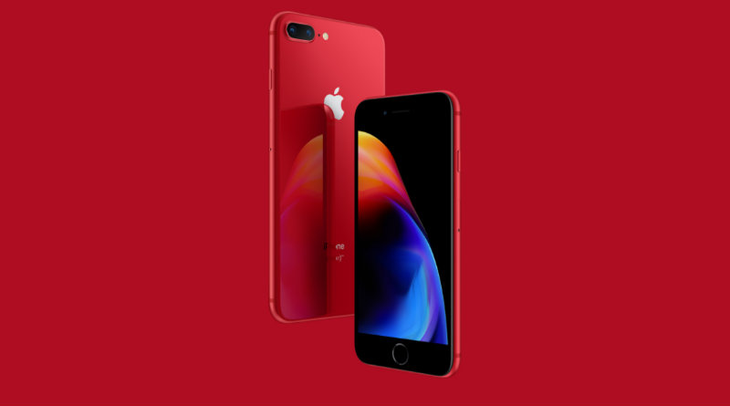 iPhone 8 Product (RED) | Фото: Apple
