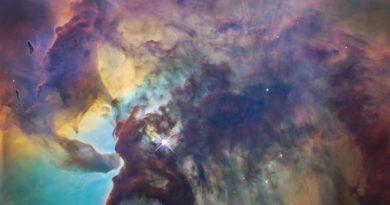 туманность Лагуна | Фото: NASA