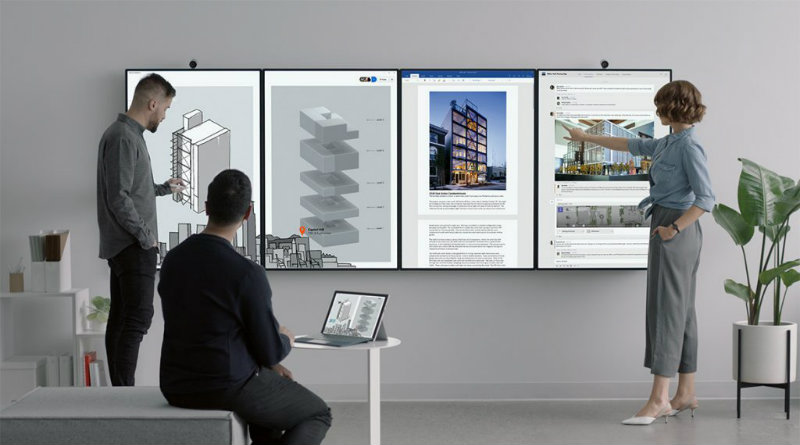 Surface Hub 2 — бизнес-компьютер от Microsoft