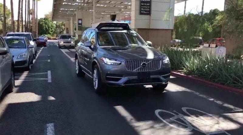 Беспилотный Uber | Фото: pcmag.com/