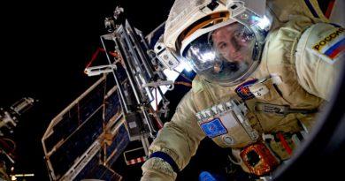 российский космонавт | Фото: gdb.rferl.org