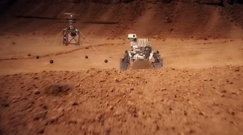 Mars Helicopter | Фото: NASA