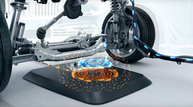 BMW зарядит электрокары без проводов