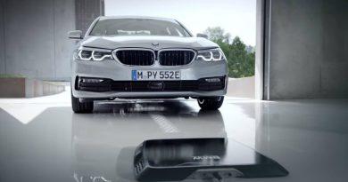 Беспроводная зарядка BMW   Фото: autoevolution.com