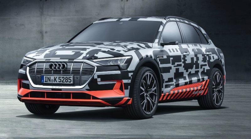 Audi e-tron | Фото: Audi